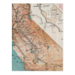 Map of California 2 Post Cards