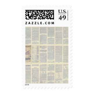 Map of California 3 Postage