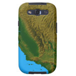 Map of California and Nevada 2 Samsung Galaxy SIII Cases