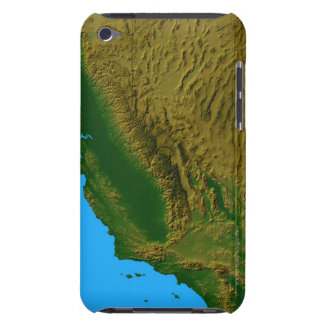 Map of California and Nevada 2 iPod Case-Mate Case