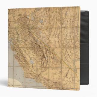 Map Of California And Nevada Binder