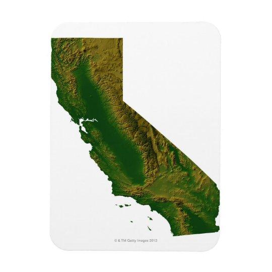 Map of California Magnet