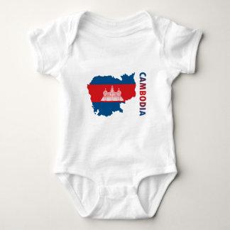 Map Of Cambodia Baby Bodysuit