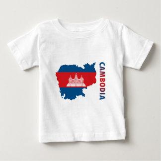 Map Of Cambodia Baby T-Shirt