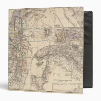 Map of Canaan 3 Ring Binder