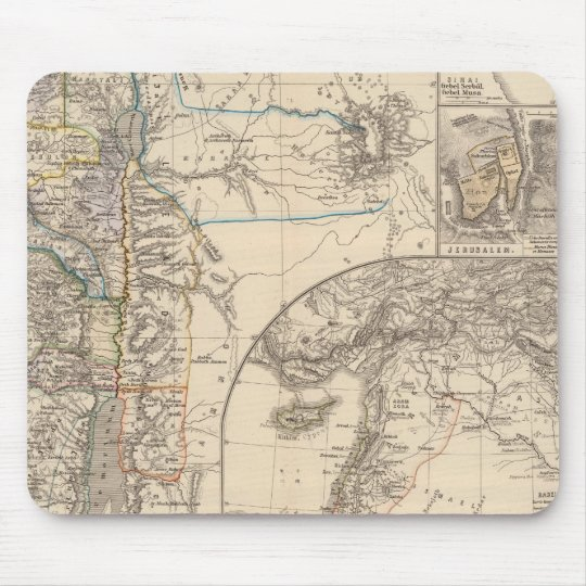 Map of Canaan Mouse Pad