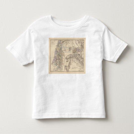 Map of Canaan Toddler T-shirt