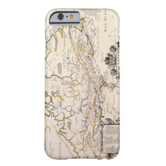 Map of Canada Barely There iPhone 6 Case