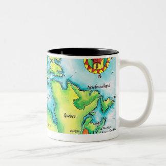 Map of Canada Coffee Mug