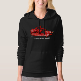 Map of Canada Pull-over Hoodie