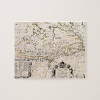 Map of Canada Jigsaw Puzzles