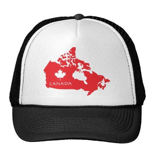 Map Of Canada Trucker Hat