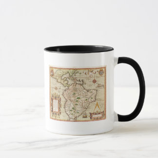 Map of Central and South America Mug