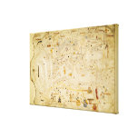 Map of Charles V, Map of Mecia Canvas Print
