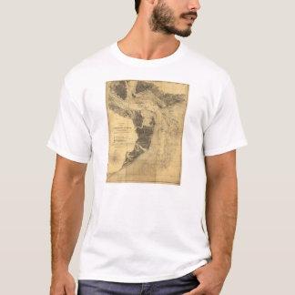 Map of Charleston Harbor South Carolina (1863) T-Shirt