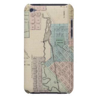 Map of Chatfield, Map of Caledonia, Minn Barely There iPod Cases