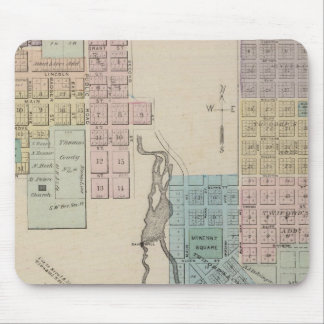 Map of Chatfield, Map of Caledonia, Minn Mouse Pad