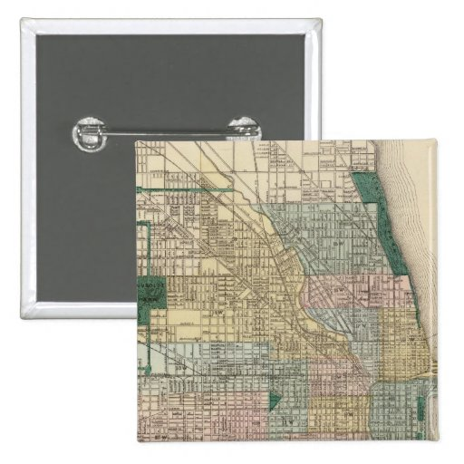 Map of Chicago City Button