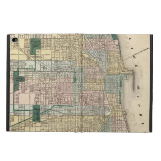 Map of Chicago City Powis iPad Air 2 Case
