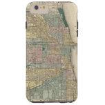 Map of Chicago City Tough iPhone 6 Plus Case