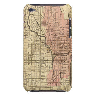Map Of Chicago Showing The Burnt District Barely There iPod Cover