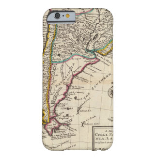 Map of Chili, Patagonia, La Plata Barely There iPhone 6 Case