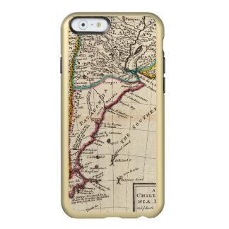 Map of Chili, Patagonia, La Plata Incipio Feather Shine iPhone 6 Case