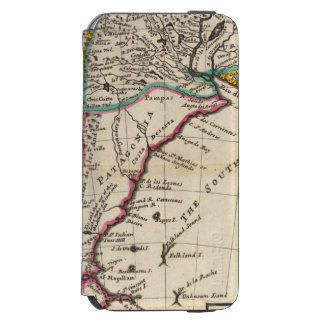Map of Chili, Patagonia, La Plata iPhone 6/6s Wallet Case