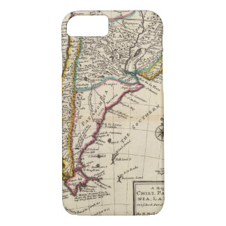 Map of Chili, Patagonia, La Plata iPhone 8/7 Case