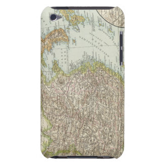 Map of China and Japan iPod Touch Cover