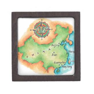 Map of China Gift Box