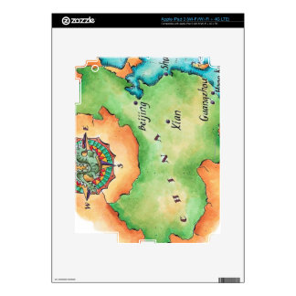 Map of China iPad 3 Decals