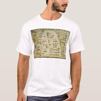Map of China sea, facsimile of 'Miller Atlas' T-Shirt