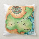 Map of China Throw Pillow