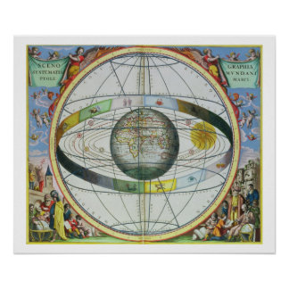 Map of Christian Constellations, from 'The Celesti Poster