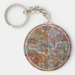 Map of Christian Constellations, Southern Skies Keychain