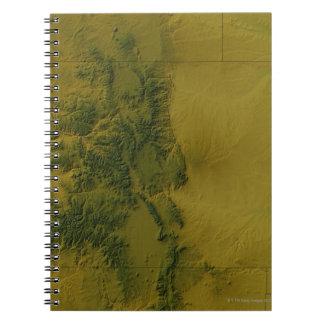 Map of Colorado Notebook