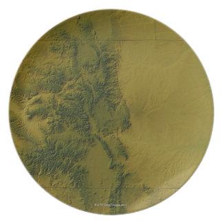 Map of Colorado Plate
