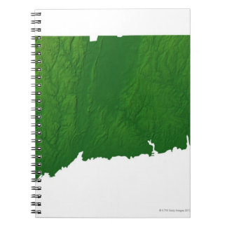 Map of Connecticut 2 Notebook