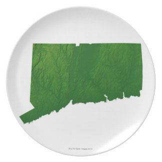 Map of Connecticut 2 Plates