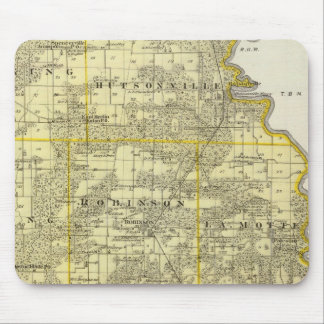 Map of Crawford County, Robinson Mouse Pad