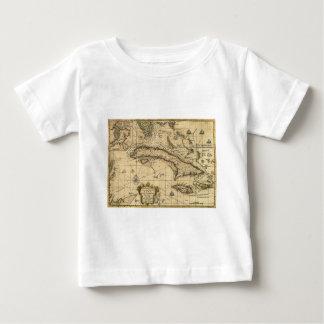Map of Cuba and Surrounding Seas (1762) Baby T-Shirt