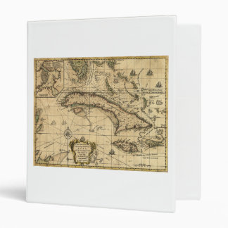 Map of Cuba and Surrounding Seas (1762) Binder