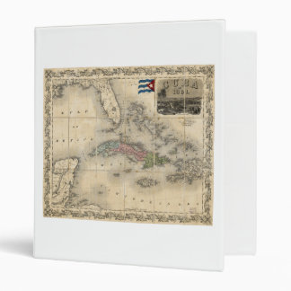 Map of Cuba by J.H. Colton (1851) Binder
