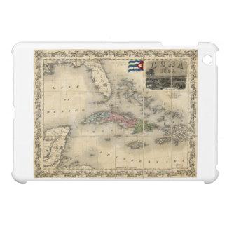 Map of Cuba by J.H. Colton (1851) iPad Mini Cases
