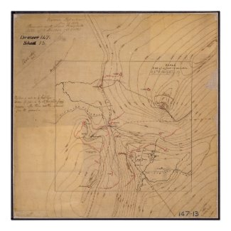 Map of Cumberland Gap Posters