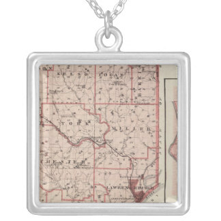 Map of Dearborn County with Greendale Jewelry