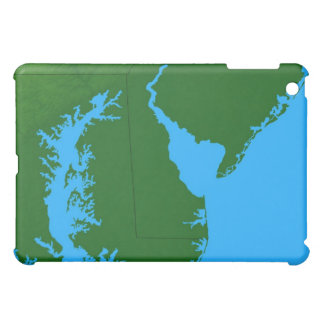 Map of Delaware Case For The iPad Mini
