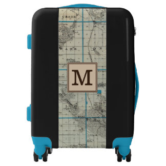 Map of Delaware County, State of Iowa | Monogram Luggage
