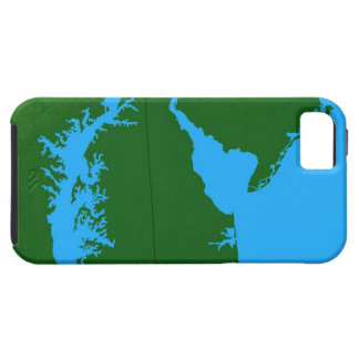 Map of Delaware iPhone SE/5/5s Case